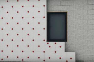 Утепление стен с помощью пенопласта клеевым методом